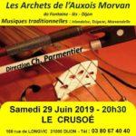 Les Archets de l'Auxois Morvan  10€