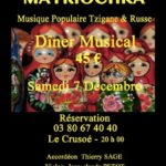 Diner spectacle 45€